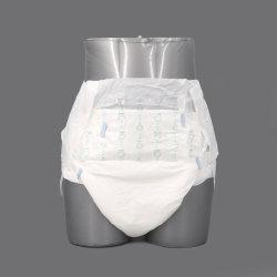 제조업체 직접 판매 일회용 슈퍼 흡수성 울트라 일반 가장 부드러운 제품 인쇄된 백시트 습윤성 표시기 일회용 성인 기저귀