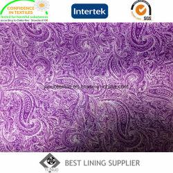 Impresión tejido de tafetán de poliéster Forro de mano dura se sienten Exportar a Turquía