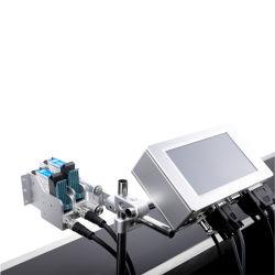 Fé Impressora Online Tij impressora a jato de tinta solvente para plástico