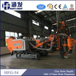 세륨 Standard의 Hfg-54 Professional Rock Mining Drilling Rig