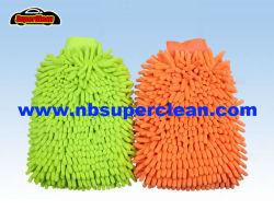 Microfiber Chenille-Auto-Wäsche-Reinigungs-Handschuh-Tuch-Wäsche-Handschuh (CN1401)