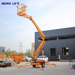 Китай 10м 12м 14м 16м гидравлический тяговая шарнирно электрические Man поднимите комбайн Cherry крестовины подъема платформы подъемника