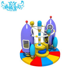 Kids Indoor Play Centre de l'équipement Soft Play Rocket jouet électrique