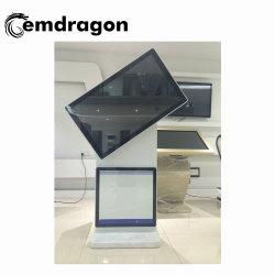 La rotación de suelo de 49 pulgadas de pantalla de la publicidad electrónica LG Original video wall jugador Ad Hospital Bisel LCD Digital Signage