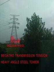 Megatro Transmission Line 220kv 2H2-Sj4 DC شد زاوية ثقيلة محفز برج ستيل