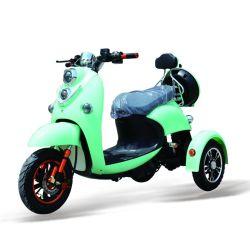 Nuevo triciclo eléctrico de 3 ruedas con asiento del pasajero
