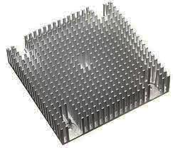 맞춤형 아노다이징 소형 알루미늄 라디에이터/압출 제품 OEM
