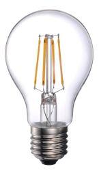 Ampoule à filament LED A60-230V-4W-430lm E27 B22, Claire, 40W remplacer à incandescence