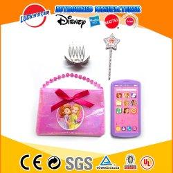Nuevo Traje de Princesa belleza chica con el juguete en el bolso en color rosa para cumpleaños