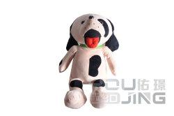 Poupée farcies marque jouet en peluche de maternelle chien pour les enfants