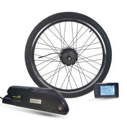 고능률 250W 350W 500W BLDC 허브 모터를 가진 전기 자전거 Ebike 변환 장비
