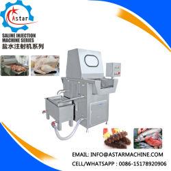 鶏のアヒルのポーク肉塩水の注入器機械
