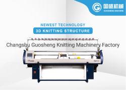 3D Flyknit Shoe Upper Knitting Machine Sales Jiangsu Guosheng Produttore