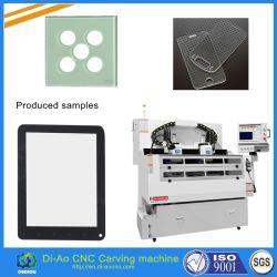 Table de travail double gravure CNC pour clavier en caoutchouc de silicone, de la fenêtre Objectif, de lentille optique