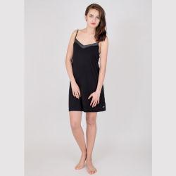 숙녀는 연약한 비스코스 밤 복장, 우연하고 간단한 놓인, 여자의 별장 옷 가벼운 및 Breathable 가정 밤 복장을 냉각한다