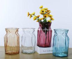 Bela Flor vaso de vidro, decoração com muitos objectos de estilo