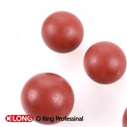 Rouge souple de haute qualité solide joint NBR 60 la bille en caoutchouc