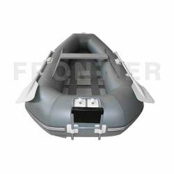 De aangepaste Vissersboot van de Sport van pvc Hypalon Opblaasbare Tedere met Aluminium/de Houten/Vloer van Airmat/van het Latje