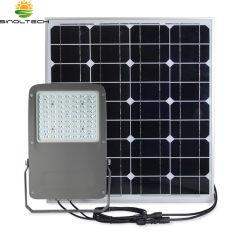 Compact ontwerpt iedereen in Twee 2200lm 15W het LEIDENE Licht van de Vloed met Afzonderlijk Zonnepaneel 40W en de Ingebouwde Batterij van het Lithium 195wh (Sn-S15W)