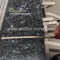 Bela Blue Pearl Polonês Fachada-mosaico pisos de granito para Villa Hotel Restaurant