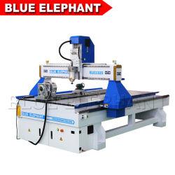 1325 4 Achse CNC-Router Holz-Schnitzmaschine Preis 3kw Wasserkühlung Spindel Hohe Qualität