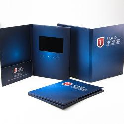 De digitale Interactieve VideoKaart van de Groet van Kerstmis USB met het UK