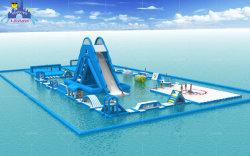 Le plus récent jeu Crazy mer Parc Aquatique gonflable, SGS en PVC de première classe