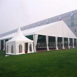 屋外の結婚披露宴のテントのための大きいおおいのゆとりの屋根の玄関ひさしのイベントのテント