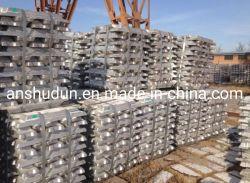 Lingote de ligas de alumínio de alta qualidade 99.91% ADC lingote Al secundário 12 Fabricante