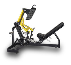 Venta caliente Peso Libre Comercial de la máquina de GIMNASIO Gimnasio cargado de la placa de prensa de la pierna Xa-09