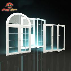 Het Toilet van de Tuin van het Profiel van het aluminium/van het Aluminium bevestigde het Gevormde Venster van het Glas