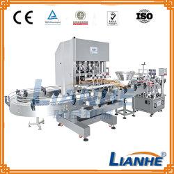 Shampooing automatique/sanitizer détergent/savon liquide//crème plafonnement de l'étiquetage de la machine de remplissage