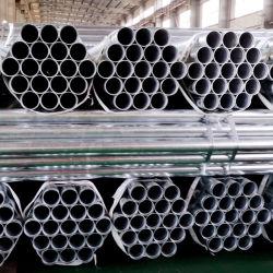 Tubo de acero galvanizado en caliente el tubo de gases de efecto y las barandillas y poste de cerca y el suministro de agua y gas natural