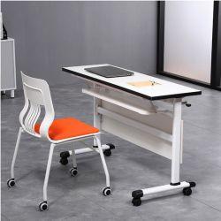 اجتماع طاولة اجتماعات قابلة للتعديل قابلة للنقل مكتب مكتب قابل للتكديس