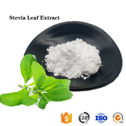 Производитель питания 100% натуральные Stevia оставляет извлечения