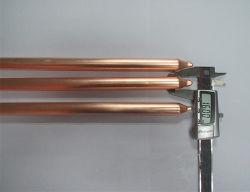 Tuyau flexible de la chaleur 16mm, la poudre de fritté Heatpipe droites