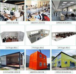 中国の販売のためのサンドイッチパネルシステム組立て式に作られた/プレハブモジュラー鉄骨構造の建物/移動式プレハブのホーム/容器の家
