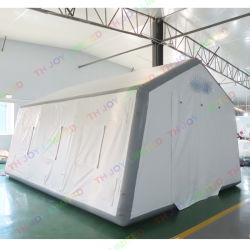 6X4mの膨脹可能なテント水証拠の病院の緊急のキャンプテント