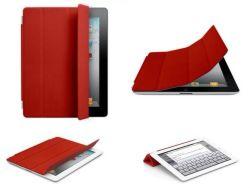 Кожаный Multi-Fuctional Smart крышка для нового iPad 3