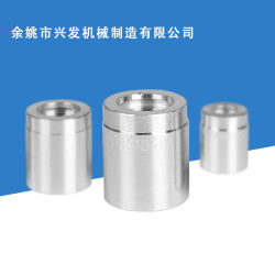 Accessori idraulici nessun puntale idraulico 03310 della striatura per il tubo flessibile bifilare della treccia