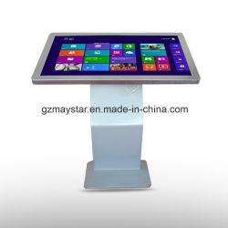 Lcd-Touchscreen Standee Totem Computer Met Batterijvoeding