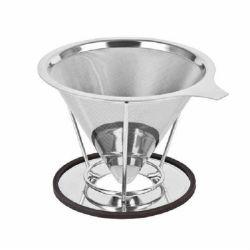ステンレス鋼はコーヒーのフィルターの滴りのコーヒーメーカーに注ぐ