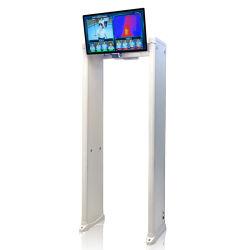 Caméra thermique infrarouge No-Contact caméra à imagerie thermique pour le corps de la température avec promenade à travers le détecteur de métal