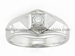 標準的なリングの試供品の宝石類