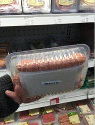 Het aangepaste Nieuwe Hete Ontwerp verkoopt Amerika Canada Mexico de Hete Verkoop het Verse Industriële Verpakkende Absorberende Bevroren Vlees van het Voedsel houdt