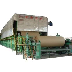 3800mm 200tons Kraft Paper Making Machinecardboard Paper Making machine