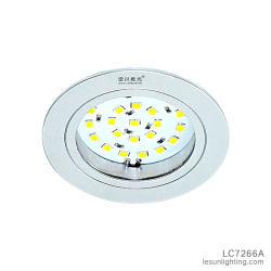 مصباح منخفض قليل السمك LED منخفض الارتفاع 3 واط، مصباح LED صغير داخل حجرة