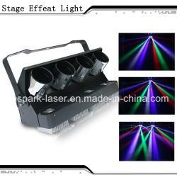 ماسحة ضوئية LED بأربعة براميل من نادي ليلي ديسكو
