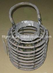 環境に優しいカスタマイズされた中国のランタンの形の蝋燭ホールダーのキャンプのランタン