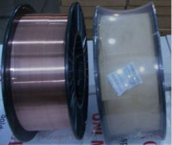 0.9Mm SG2 Golden Bridge /Fio de Soldagem de Sólidos Er70s-6 Solda com revestimento de cobre